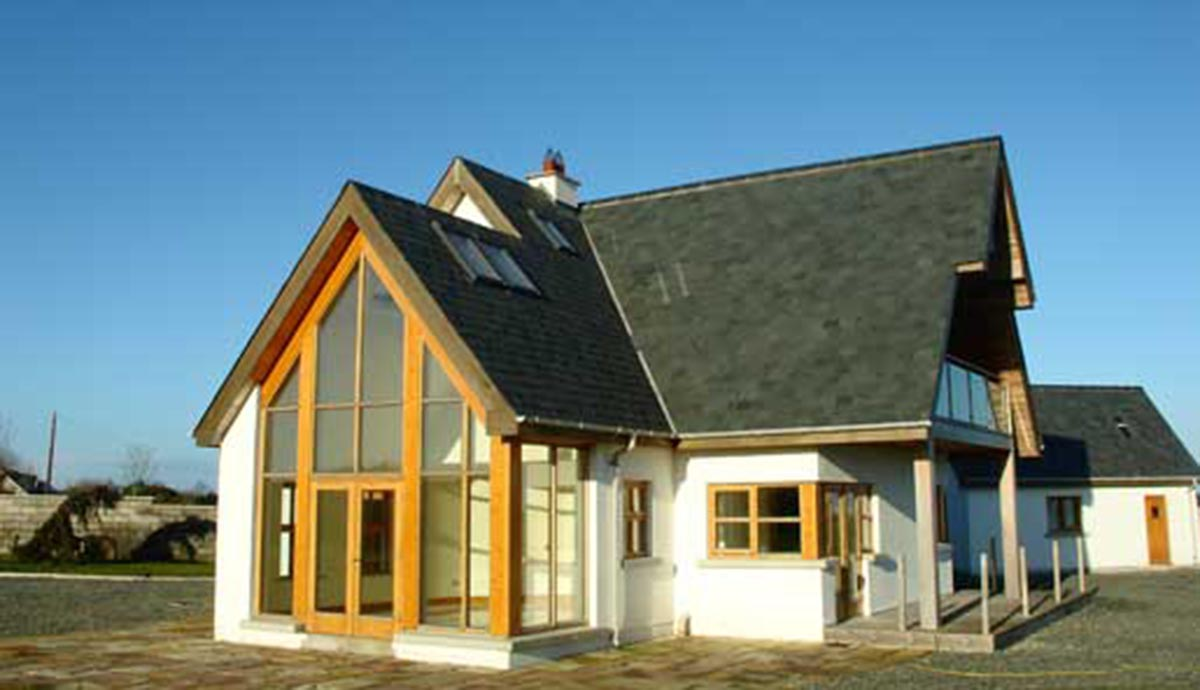 Self builds portfolio the timber frame company uk for Building a timber frame house